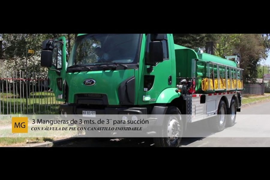 Entrega de Estanque Aljibe de 12 m3 inoxidable para Apoyo de Bomberos de la 2°